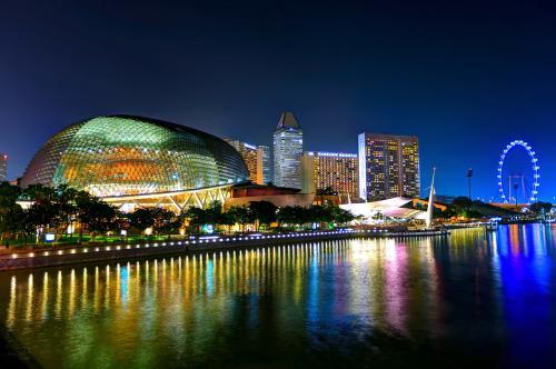 中国藏文化交流团访问新加坡