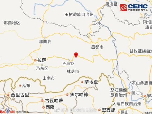 5.0-magnitude quake hits Tibet: CENC