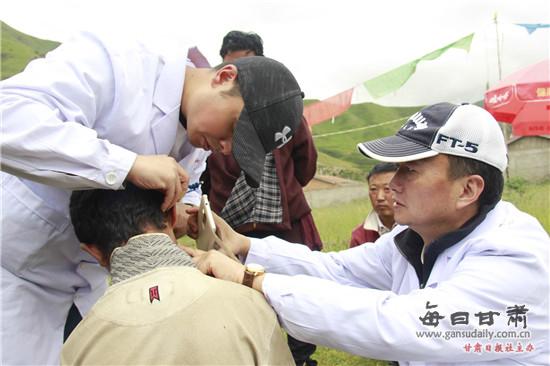 甘肃省第二人民医院医疗援藏工作纪实
