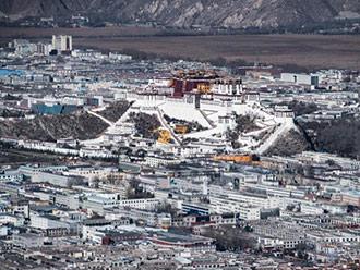 西藏拉萨直升机空中观光线路确定 能远眺布达拉宫