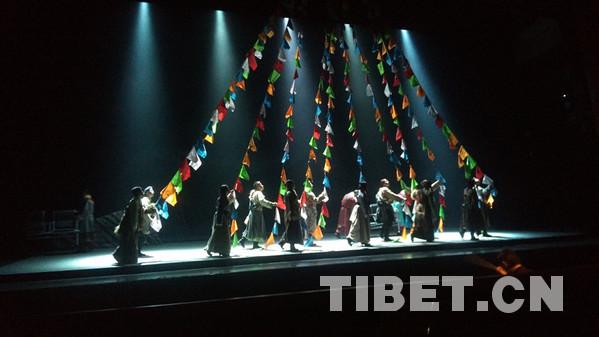 《藏地彩虹》在中国评剧大剧院首演