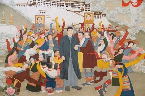 Giant thangka paiting earns two world records