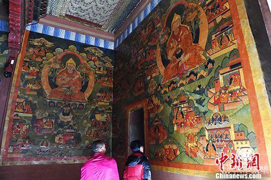 Labrang-Kloster originalgetreu restauriert