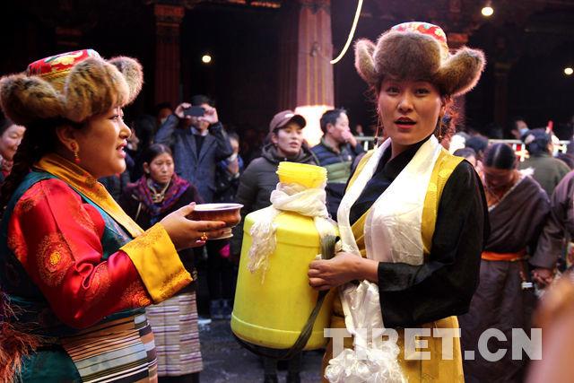 冬季里的西藏生活  很火很热