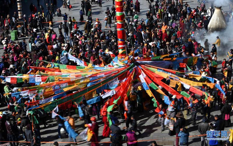 Jokhang-Tempel feiert tibetisches Neujahr