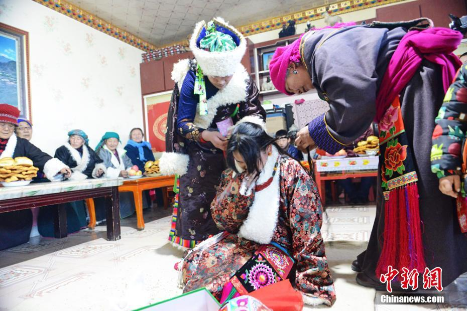 'Tibetan wedding' in the Qilian Mountains, Gansu