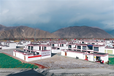 New look of Four Seasons Lucky Village, Tibet