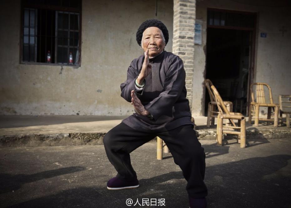 """94-jährige """"Kung-Fu-Oma"""""""