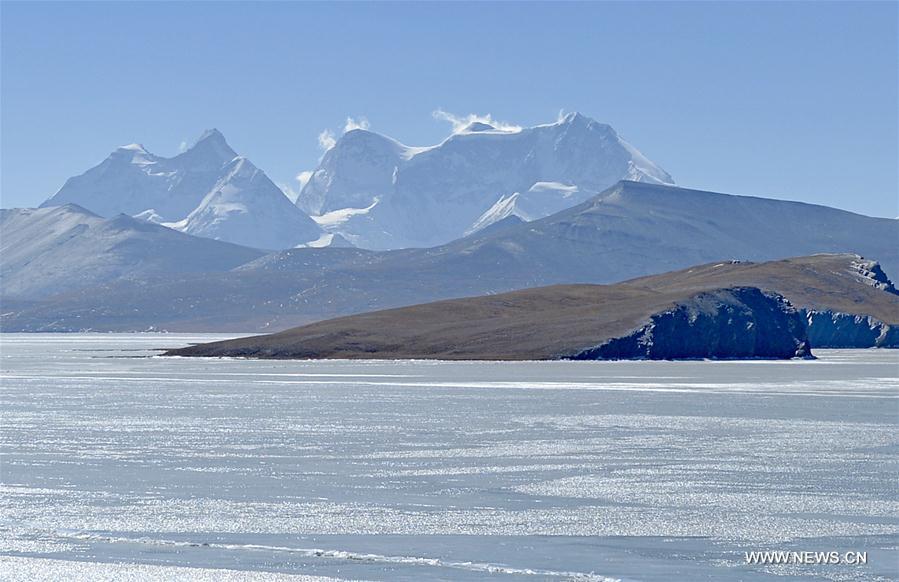 Snow scenery of Gulha Kangri mountain in China's Tibet