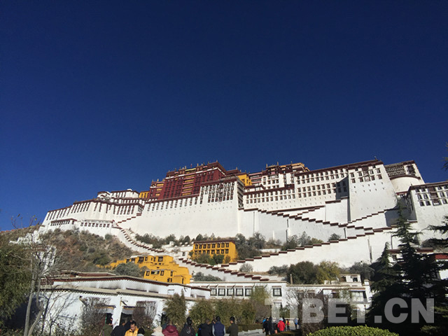 Tibet's tourists exceeds 70 pct during Spring Festival