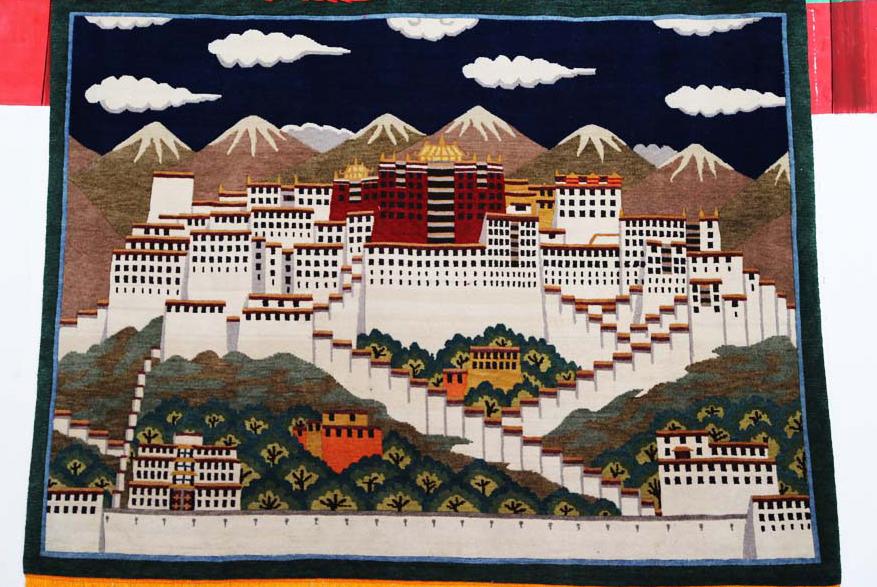 Tibet schmiedet erstes Teppichmuseum