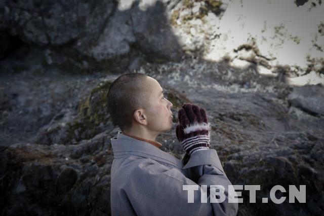 Der im Buddhismus heilige Hühnerfuß-Berg