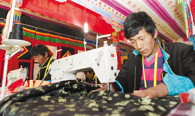 Non-public economy in Tibet developing rapidly