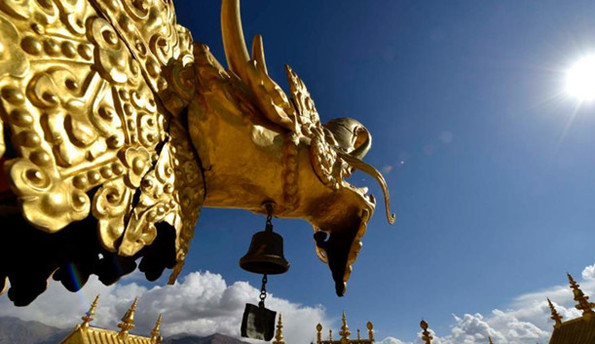 Tibet: Das goldene Dach des Jokhang-Klosters