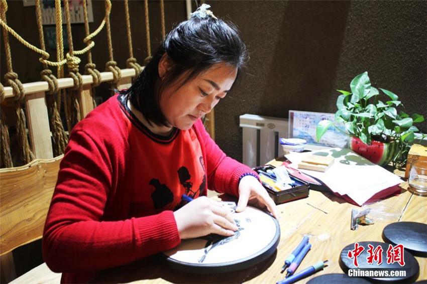 Holzschnitte zeigen Dunhuangs Kulturreichtum