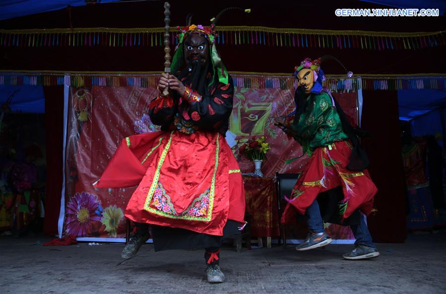 """""""Gaoshan"""" Oper in Longnan aufgeführt"""