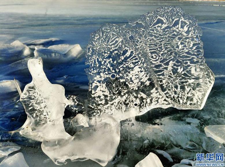 Die bunte Eiswelt von Qaidam