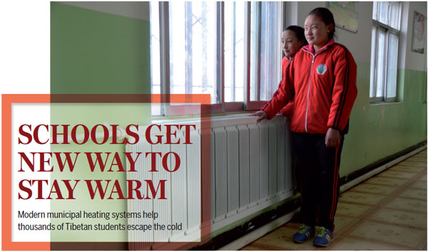Schools get new way to stay warm