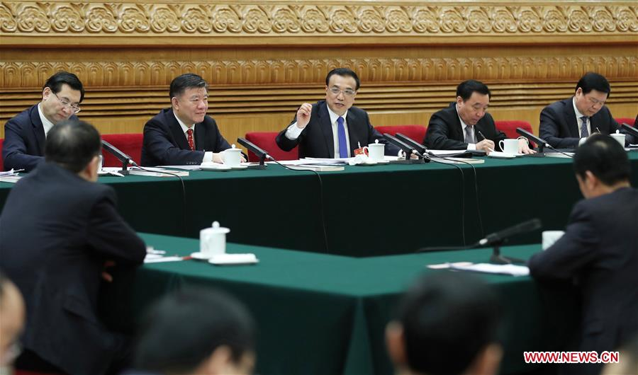 Chinese leaders discuss economy, Belt&Road with lawmakers