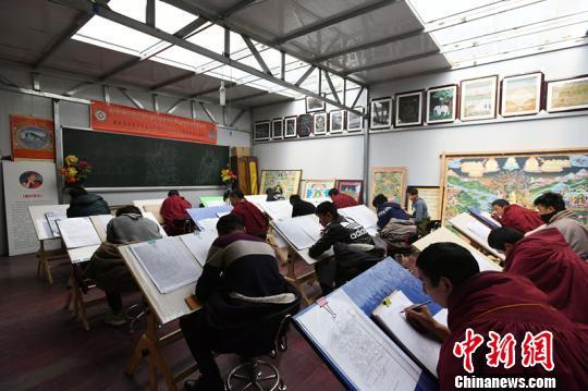 Tibetische Region in Ngari Sichuans: Tibetisches Handwerk bringt Reichtum