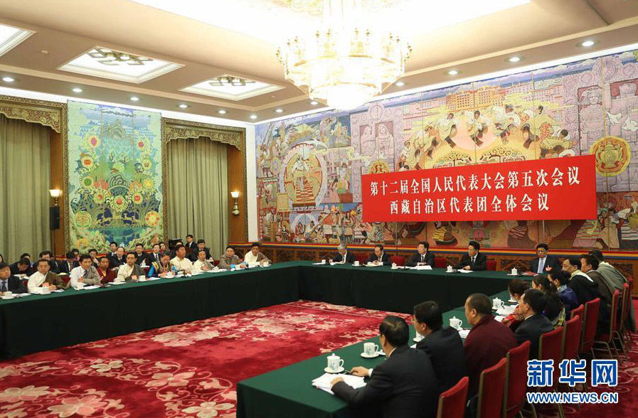 Tibet delegation submits 25 proposals to the National People's Congress