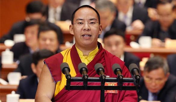 Panchen Lama: Buddhismus zu verbreiten, alle Lebenswesen zu schützen