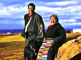Tibetan people's life through a photographer's lens