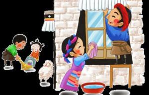 Glückverheißende Reinigung vor dem tibetischen neuen Jahr