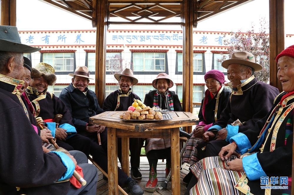Altenheim in Tibet: konzentrierte Wärme