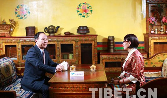 Interview: Vorsitzender des Autonomen Gebiets Tibet spricht über Tibet