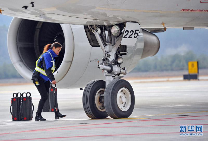 Tibetan girl Maria's plane obsession
