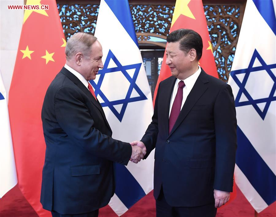 China, Israel announce innovative comprehensive partnership