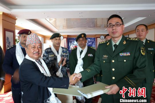 China and Nepal strengthen police cooperation