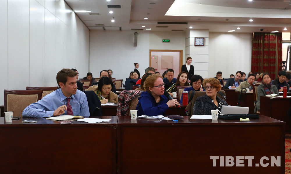 """Tibetan cultural protection"" news salon takes place in Beijing"