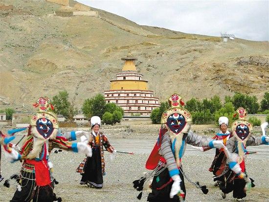 Die tibetische Oper von Jiongba