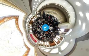 VR图片│全国政协十二届五次会议新闻发布会举行
