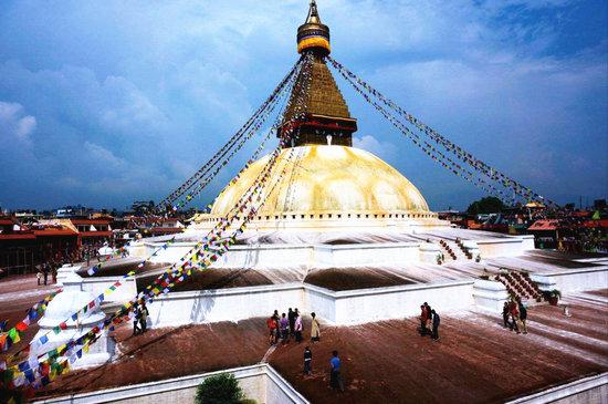 Der Bodhnath-Stupa