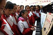 藏乡学子的多彩校园