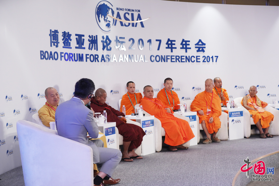 Boao Forum for Asia holds Buddhism sub-forum