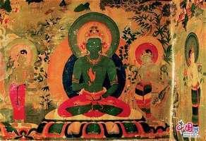 西藏3位国家级唐卡画师参与绘制《十明图》