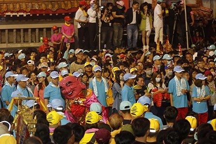 Taiwanesen wandern für Matsu