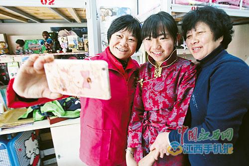 Liebevolle Mütter in der Tibet-Klasse