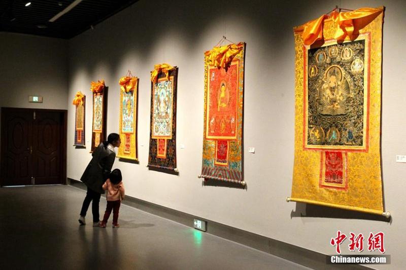 Ausstellung in Xining präsentiert 88 wunderschöne Thangka-Gemälde