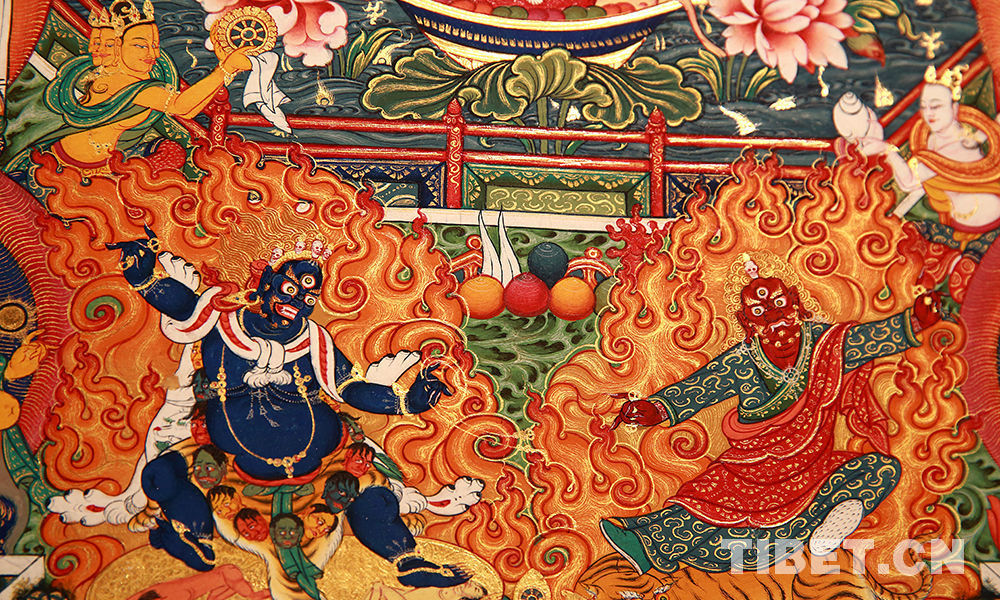 10 masters to collectively create thangka works