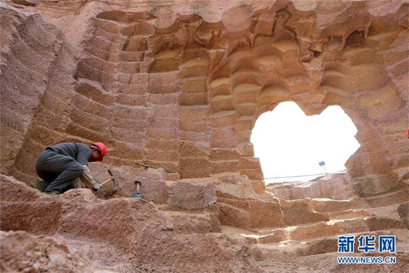 600-jährige Steinmühlegruben in Shandong