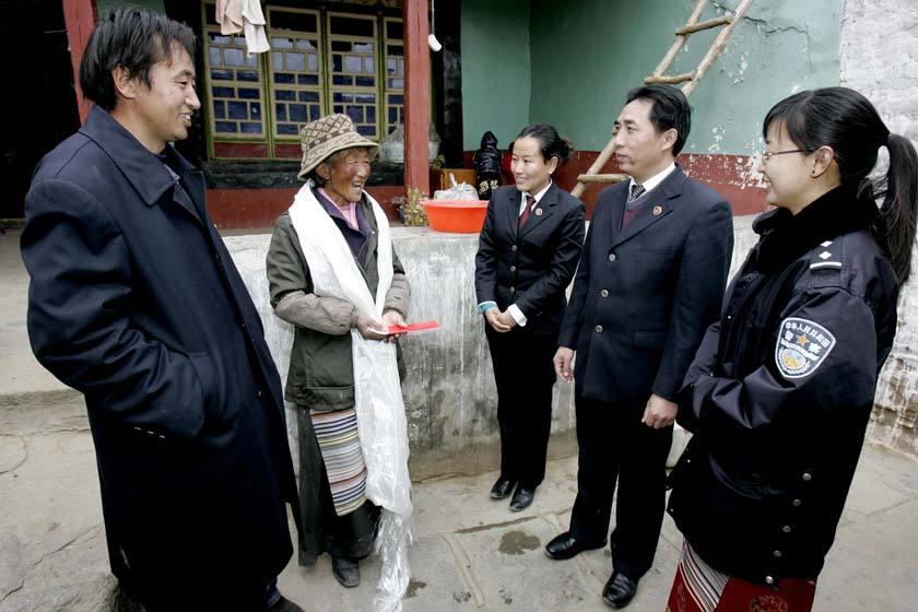 """Tibetische """"Verwandte"""" des Staatsanwalts"""