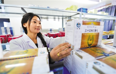 Tibetan medicine sees rising output in 2016