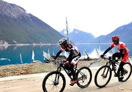 Bald Fahrrad-Rennen um Basum-See