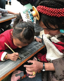 Reviving a centuries-old tradition in Tibet