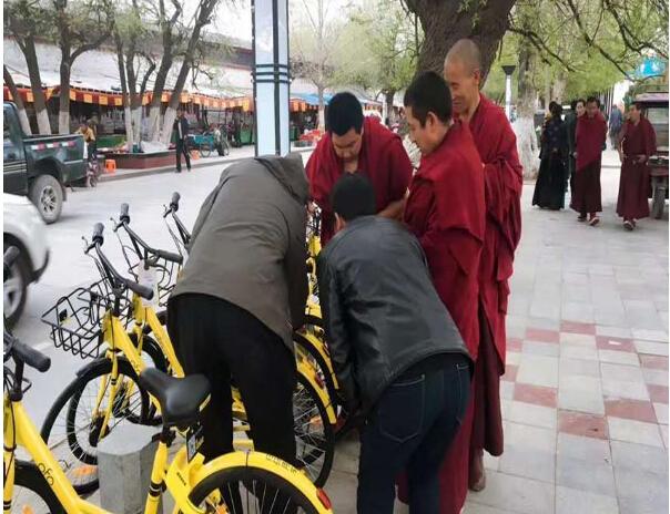 """""""共享单车""""开启日喀则市民出行新方式"""